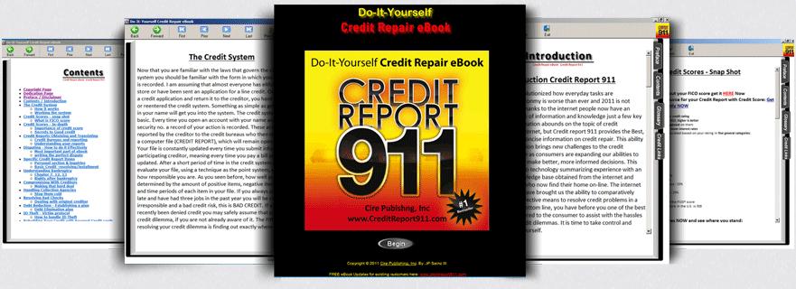 Credit repair ebook credit report 911 best credit repair credit repair ebook solutioingenieria Image collections